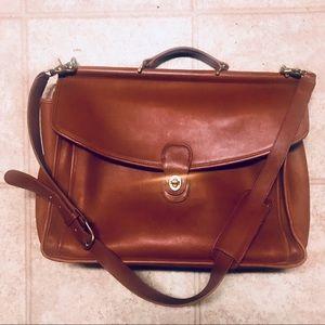 Coach Beekman Leather Briefcase Messenger Bag